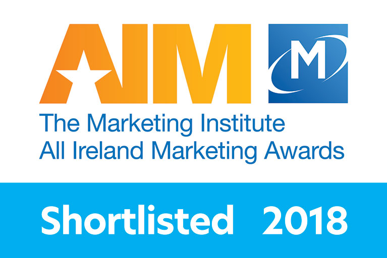 Marketing Institute All Ireland Marketing Awards Shortlisted